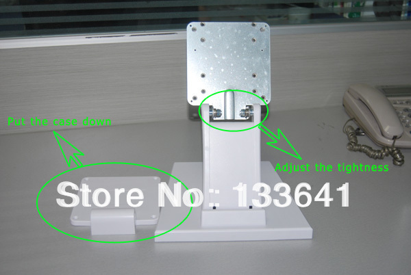 VESA Holes/100x100mm/Used for All In One PC or Display/Very Stable Plastic And Metal Display Stand(China (Mainland))