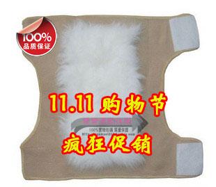 1pair/lot pure warm wool kneepad thermal winter windproof kneepad Knee Pads free shipping(China (Mainland))