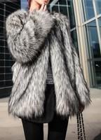 free shipping Tops fur coat women New 2013 luxury design stripe long overcoat outerwear winter women jacket Fur & Faux Fur