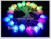 50Sets 20LEDs RGB pixel module,Modeling String lights Pine tree fruit lights AC220/110V LED String Light 50S