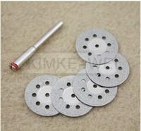10pcs  22mm Mini Diamond Cutting Discs Dremel Tools New free shipping