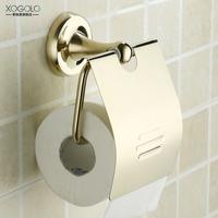 Copper gold toilet paper holder paper towel holder roll holder 2751 gold plated toilet paper rack (XP)