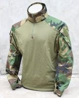 G TMC G3 Combat Shirt ( Woodland ) Tactical Shirt Free Shipping