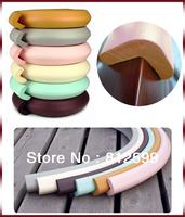 Free Shipping! Kids Baby Safety Bumper Strip Door Desk Cupboard Table Corner Edge Guard Protector Cushion Strips 2M w/ Sticker