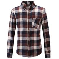 2013 men's clothing casual shirt long-sleeve shirt slim male popular plaid shirt