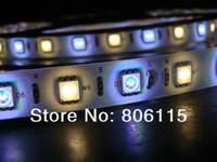 New!! 12V SMD 5050 RGB+W RGBW LED Strip Light 60 pcs LEDs per meter