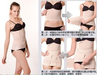 Gas-Permeable Postpartum Abdomen Belt Body Shaper Corset Belt Postpartum Shaper Binding Waist Belt 2pcs/set Drop Shipping