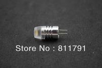 10pcs/lot  DC-12V  3W COB 8.5 for high thermal conductivity aluminum g4 mini led ceramic bulb ; g4 led corn bulb free shipping