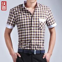 Men's clothing clothes short-sleeve shirt casual short-sleeve men's clothing male shirt
