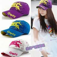 2013 spring casual baseball cap summer hat male women's summer cap sunbonnet