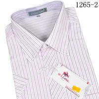 Nobility men's clothing male short-sleeve shirt thin casual short-sleeve shirt tencel cotton male shirt