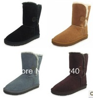 Wholesale!5815 5825 5854 5803 1873 Australia classic tall waterproof cowhide genuine leather snow boots warm shoes for women