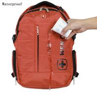 Unisex Laptop Backpack Nylon Zipper Casual notebook bag men hiking backpack women camping travel bag sport school bag waterproof