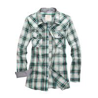 2013 spring and autumn male fashionable long-sleeve shirt slim casual plaid shirt 100% cotton cardigan