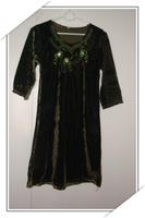 Muslim mention carat turn children's clothes twinset 001
