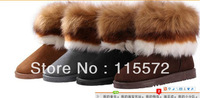 2013 Women Australia sheep skin Plush Snow Boots Warm Real Leather Winter Party Brand shoes classic size 35-39