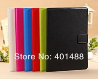NEW arrive   archaize  wallet card  fashion PU  leather case COVER  stand  for Apple IPAD5 air  5 gen