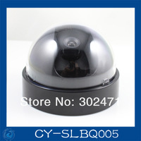 Free Shipping CCD Dome CCTV Camera Round Plastic Housing Cover Case