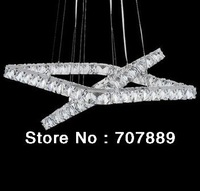 2013 New Design Raimond Square LED crystal Chandelier Lighting Modern Pendant lamp (square 70*50cm)+Free shipping PL322
