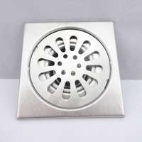 Anti-odor stainless steel floor drain capitales 10
