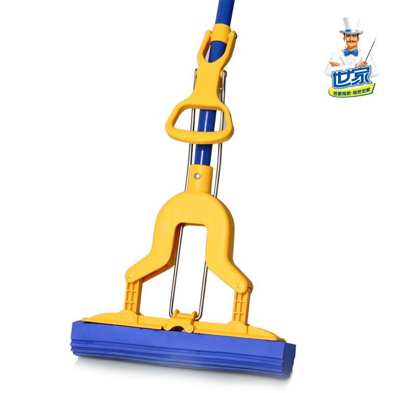 Magic pva mop folded water sponge mop clean the floor mop(China (Mainland))