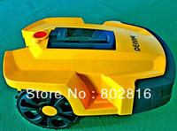 Free Shipping Robot Gas Lawn Mower (with Two independent batteries +Three covers for super waterproof +Four blades +Time Seting)