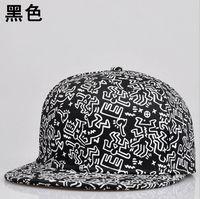 Adult fashion new popular hip-hop flat lovers offset printing snapback caps