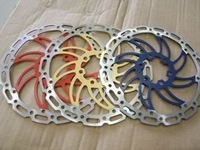 "1 Pair Disc Brake Rotor MTB 160mm 6"" Bike Bicycle Parts+Free Shipping"