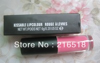 Min. order 10usd (Mix order) Lipgloss Kissable Lipcolour Rouge A Levres 6g Lip Gloss Good Quality