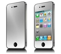 Front + Back (2+2) Premium Mirror Reflect Effect Screen Protector for iPhone 5