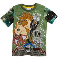 nova new  Kids wear clothing printed superman with BEN 10 boy short sleeve  t-shirts