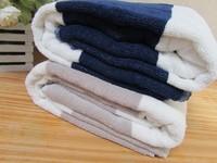 Fashion yarn dyed 100% cotton bath towel 100% cotton beach towel stripe 450g