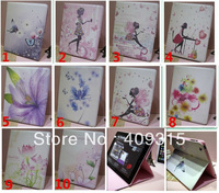 MOQ 1 pcs Fashion Diamond Flower Butterfly Smart Leather Case Cover for New iPad Air 5 5th Gen Free Shipping