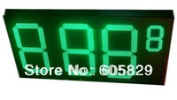 LED Gas Price display 16 inch 8.889(half 9)Green Color, LED Price Changer,LED gas sign