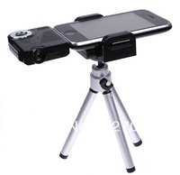 New Portable Mini Multimedia Pico Projector Handled Pocket Cinema for ipod iPhone 3GS, 4, 4S + Tripod