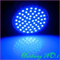 6 Pcs/lot GU10 4W 400LM Blue Light 60 SMD 3528 LED Spot Down Light Bulb Lamp 220V-240V LED0278