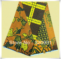 2013 Good design bright african real printed wax fabric