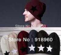 fashion Star logo cap winter mens beanie hat and womens hats hip hop cap,slouchy beanie turbantes touca beanie mens hat