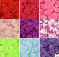 Hot! 38colors 5000pcs Party Decoration Artificial Flower Silk Petals Wedding Flowers Decor