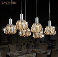 new modern simple style crystal pendant  light dining room light