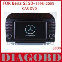 Windows CE Version Benz S350 1998 1999 2000 2001 2002 2003 2004 2005 Car DVD Player with GPS RDS radio bluetooth car dvd