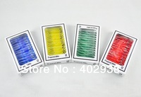 New 48pcs Plastic Prepared Microscope Slides Biological Specimen with 4 boxes for Children Student Toy Microscopes