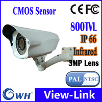 Best price 800TVL CMOS 36pcs IR leds Day/night waterproof indoor / outdoor CCTV camera with bracket