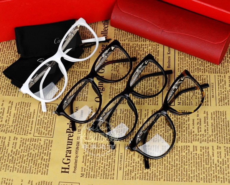 New fashion glasses myopia frames men and women fashion frames a leopard head tide in 6386(China (Mainland))