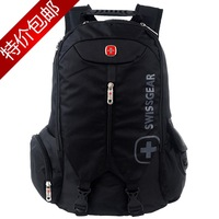 2013 Swiss gear laptop backpack bag male backpack commercial sports travel student school bag female