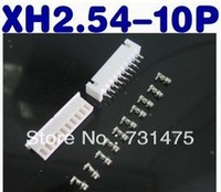 Connectors XH2.54-10P connector spacing 2.54MM set: plug + socket + terminal