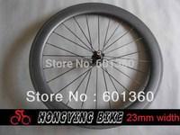 23mm width carbon 60mm tubular bike wheel (novatec A271SB/F372SB )