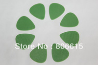 0.88mm Green Standard DELRIN Guitar Picks Plectrum Blank Purity Without Logo