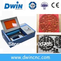 DW40 leather/fabric mini laser cutting machine