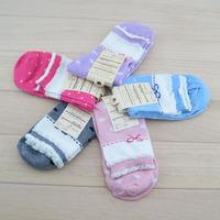 Christmas gift 100% cotton socks women's socks compassion funds dot adult socks knee-high jacquard women's socks